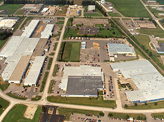 Aerial View of Viracon Campus - Owatonna, MN