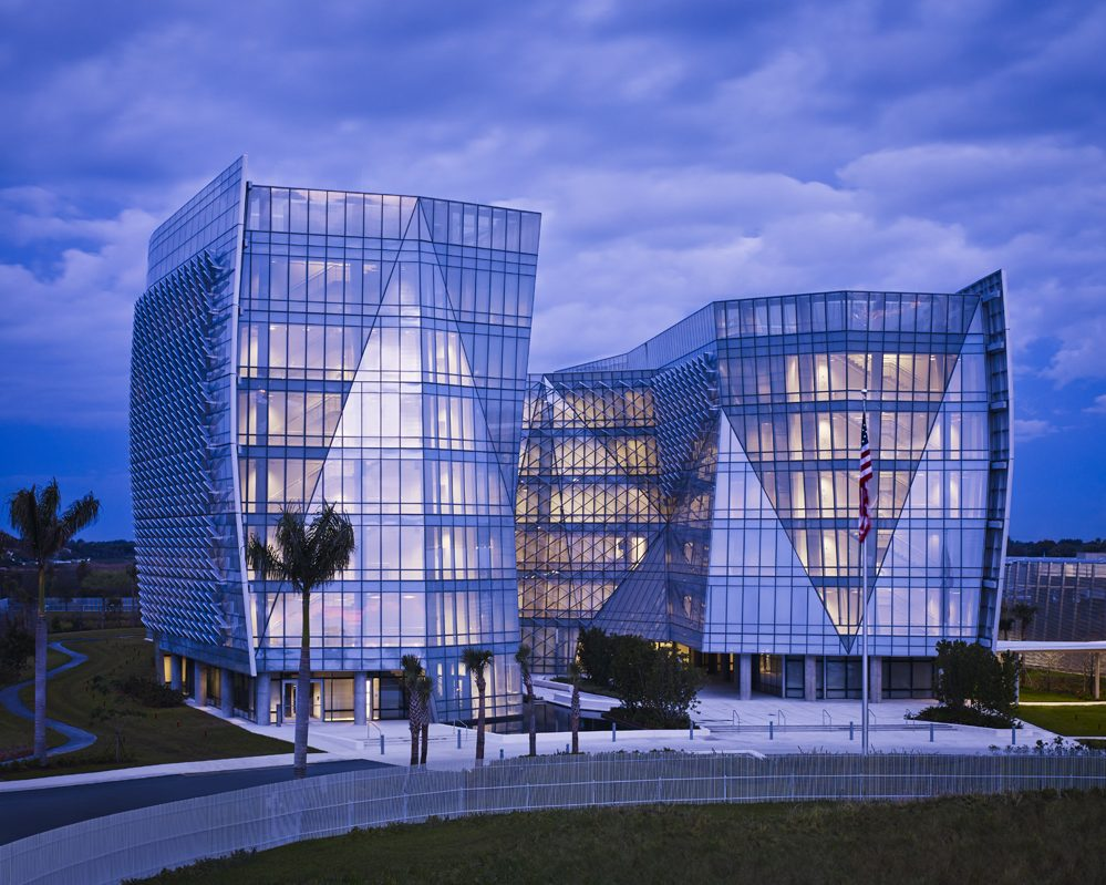 Glass with Electronic Eavesdropping Protection - Viracon delivers a customized architectural glass solutions
